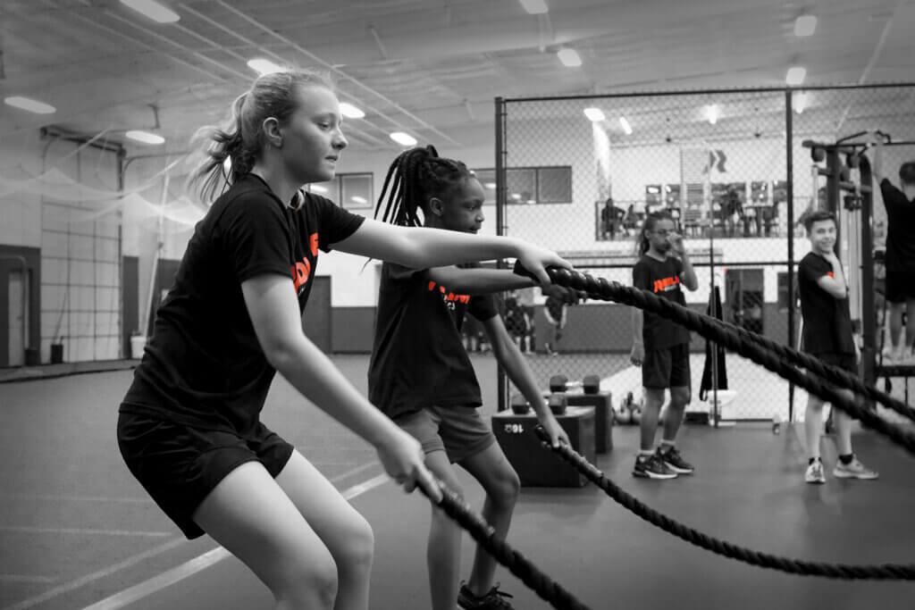 Redline Athletics Group Ropes Training
