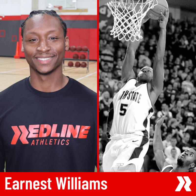 Earnest Redline Basketball