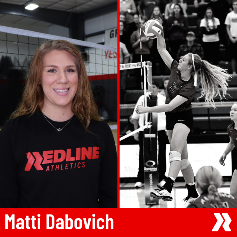 Matti D Redline Volleyball